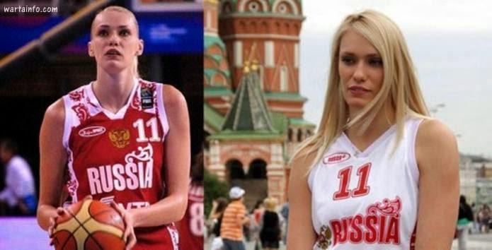 Pemain Basket wanita cewek Rusia paling Tercantik dan Terseksi - wartainfo.com