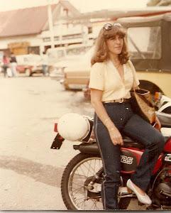 Loly Señaris Calviño, en el año 1982