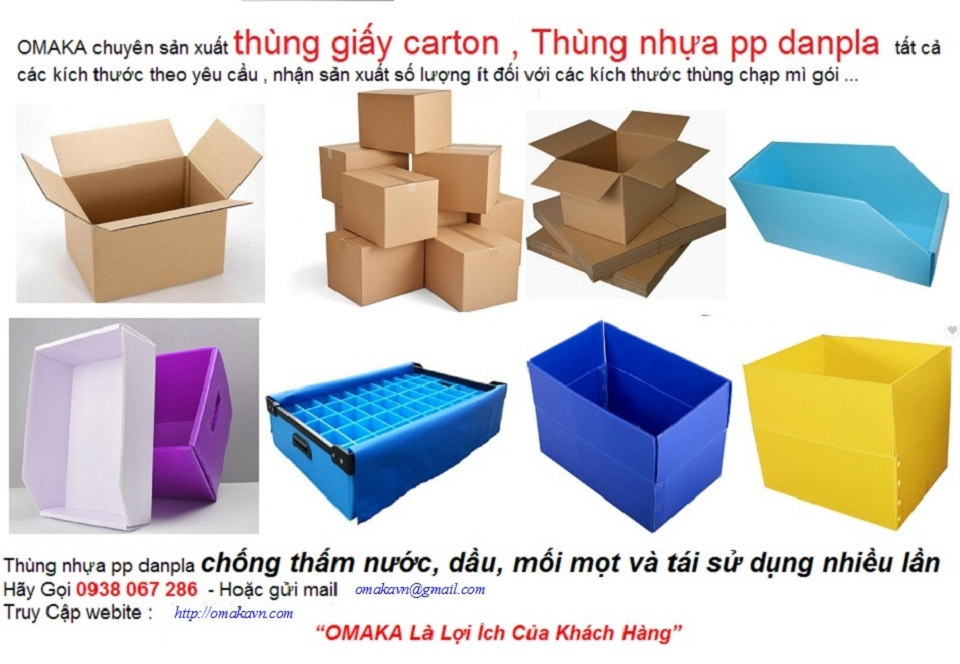 Thùng nhựa pp carton danpla | hộp nhựa pp danpla| Khay nhựa linh kiện pp danpla