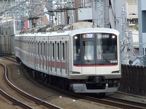 東急東横線 各停 元町・中華街行き 5050系旧表示