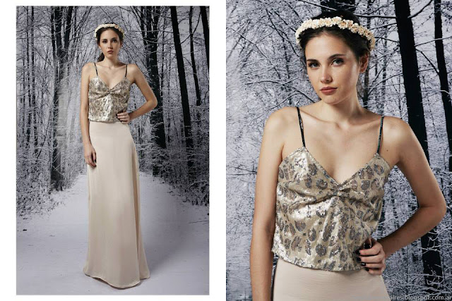 Ropa de moda invierno para fiestas 2015 Penny Love.