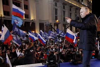 Putin gana las presidenciales rusas con el 90 por ciento de votos escrutados