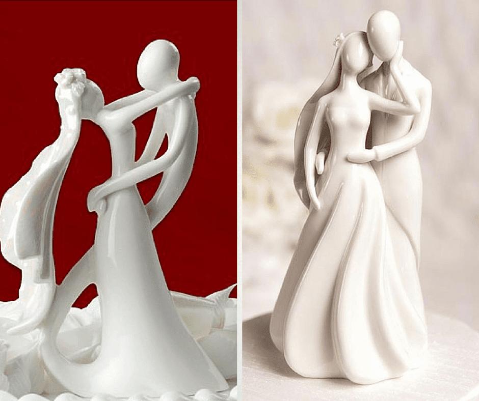 фигурки младоженци за сватбена торта
