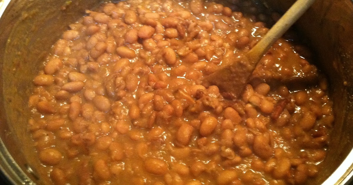 One Couple's Kitchen: Bacon-Simmered Pinto Beans