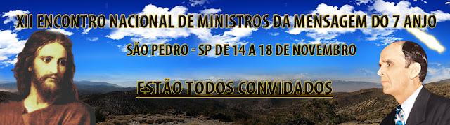 XII Encontro da Mensagem em São Pedro - SP