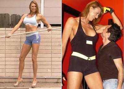 La modelo mujer más alta del Mundo BabeZilla
