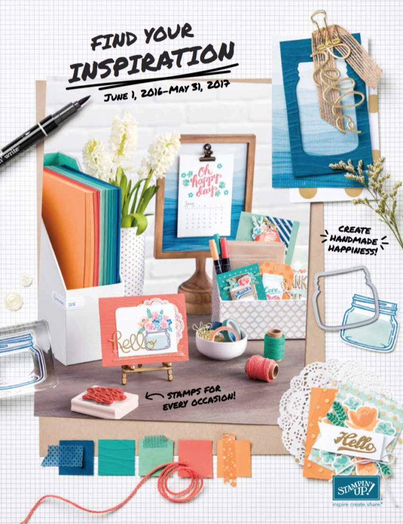 Stampin' Up! Annual Catalogue 2016/17
