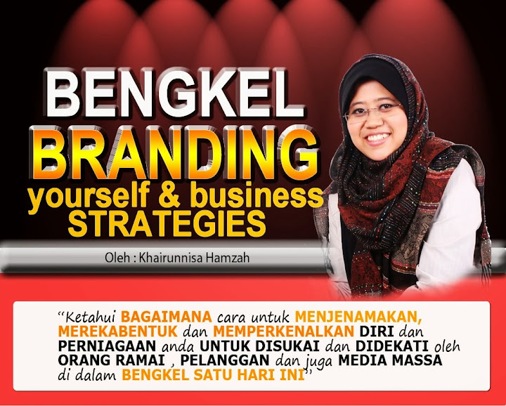 Bengkel Branding Yourself And Business Strategies