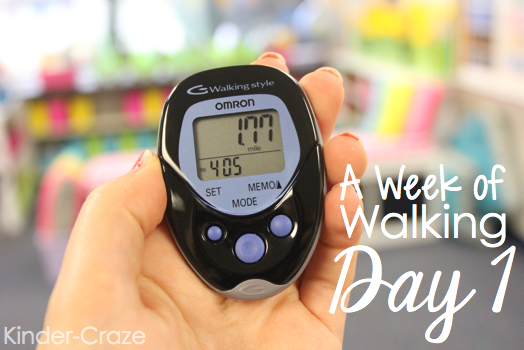 wear a pedometer to school. You'll be shocked by how far you walk each day! This teacher reflects on her experiences.