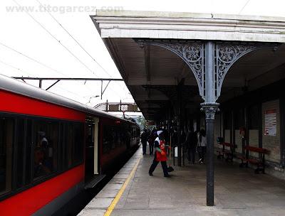 Estação de trens de Rio Grande da Serra, em Santo André