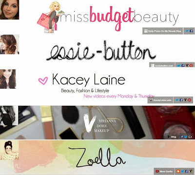 Favourite Beauty YouTubers