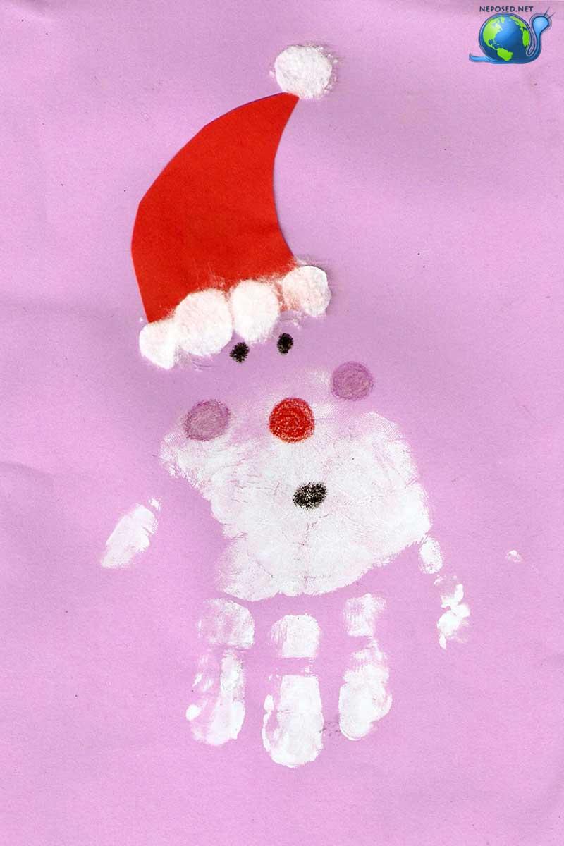 Картинка для детей ребенок в зимней одежде