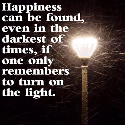 Keep that LIGHT on!!!!!