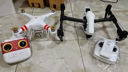 DJI PHANTOM 2 VISION PLUS AND DJI INSPIRE 1