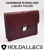 Holdall & Co leather folios