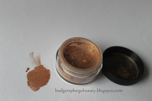 mica cosmetics bronze eyeshadow