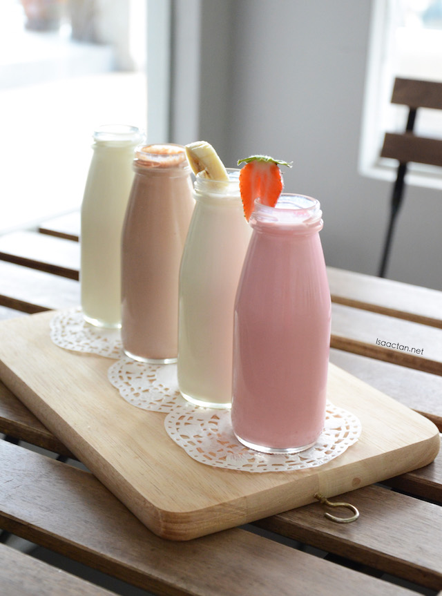 Home crafted milk series - RM6.90 / RM7.90, various flavours