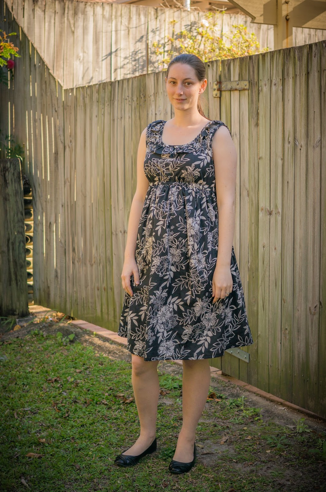 Twenty first century lady simple maternity dress my first maternity dress ombrellifo Choice Image
