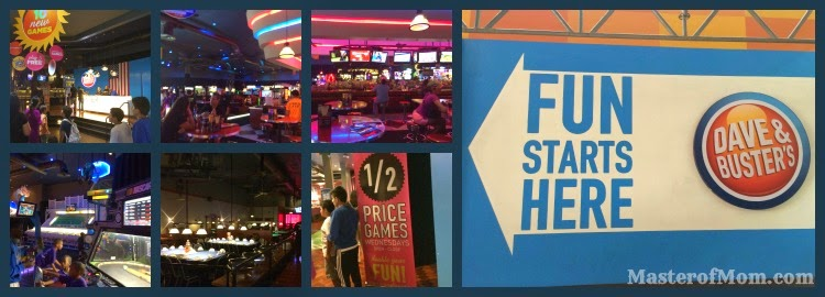 Dave & Buster's in Dolphin Mall, Miami, Florida