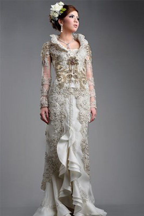fashion feminine kebaya modern us with traditional