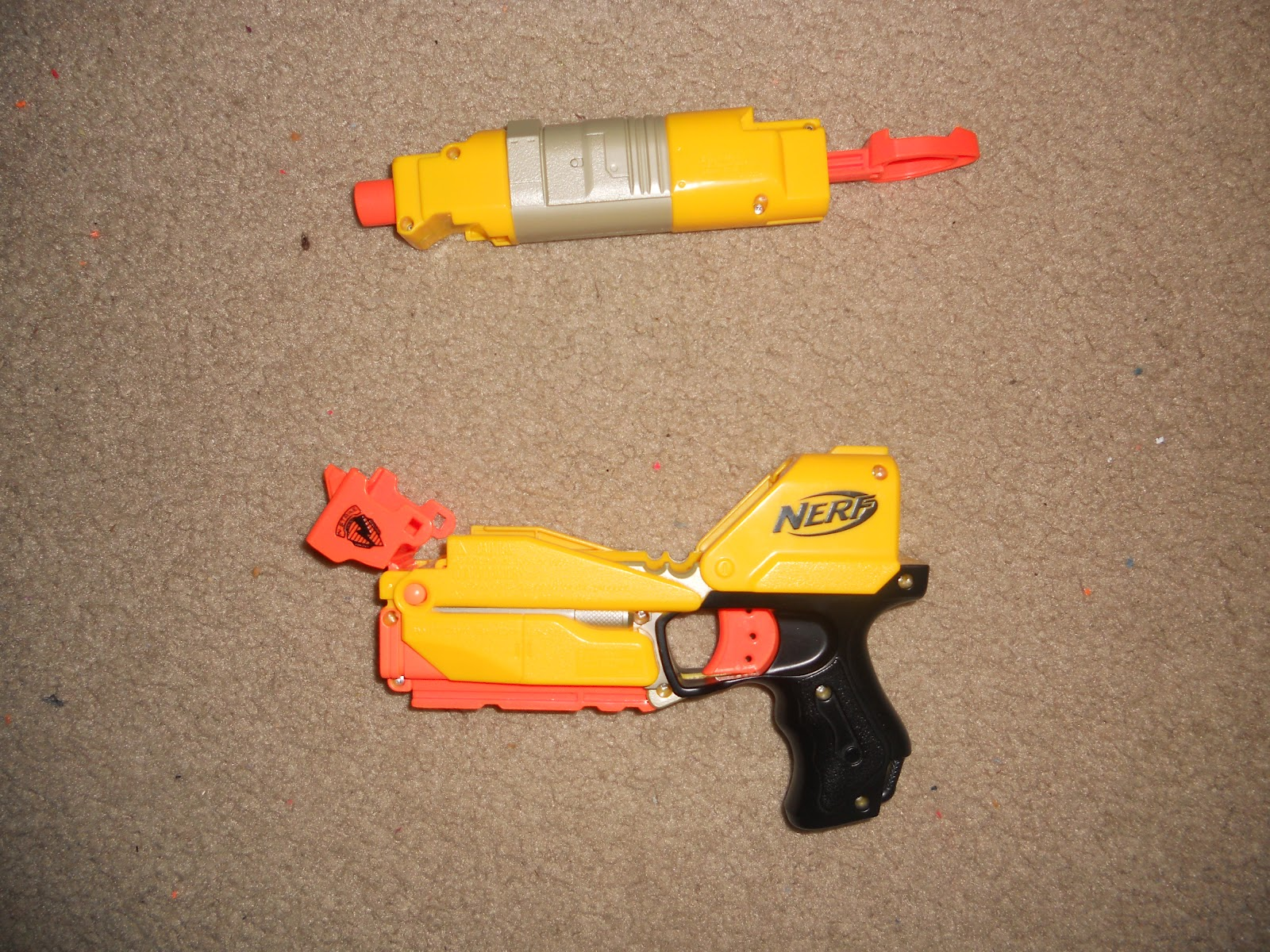 Foam Nation Nerf Switch Shot Ex 3