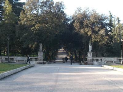 Piazzale di Villa Borghese