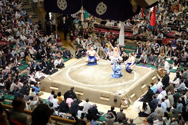 Yokozuna Ring Entering Ceremony