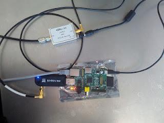Receptor de satélite com Raspberry Pi