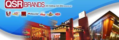 Jawatan Kosong Terkini 2016 di QSR Brands (M) Holdings Sdn Bhd http://mehkerja.blogspot.my/