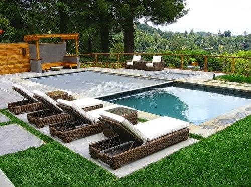 14 contoh desain kolam renang kecil pribadi di rumah