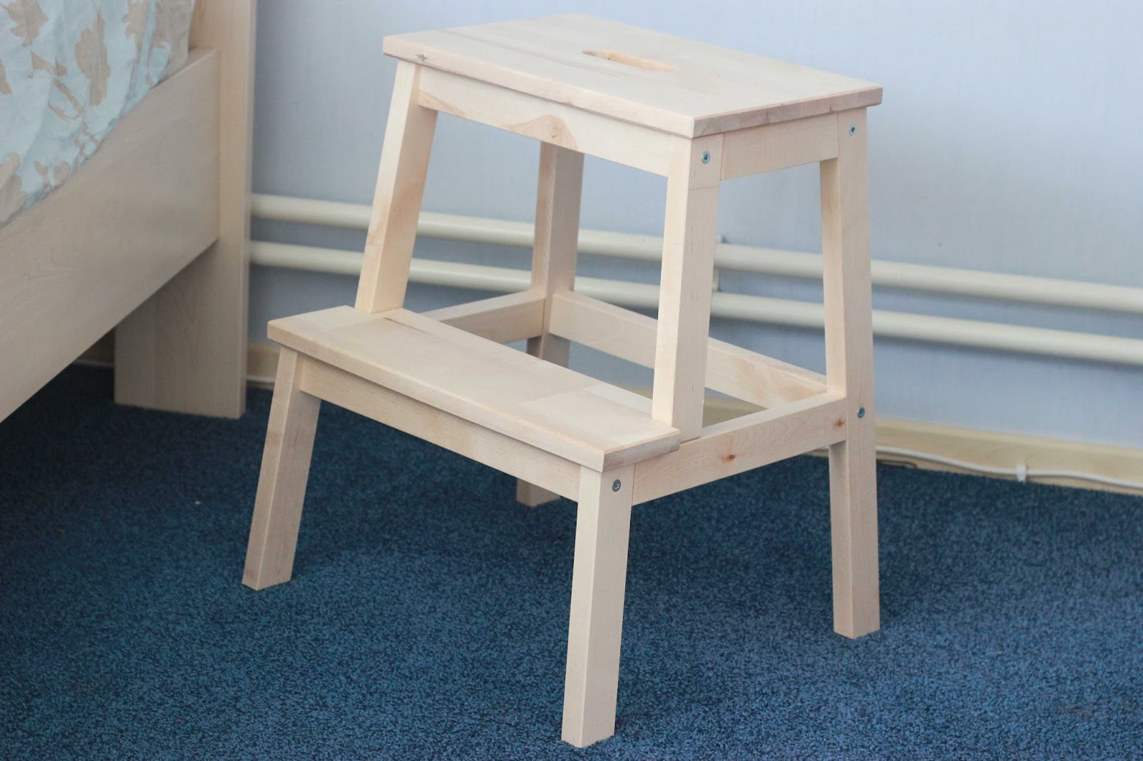 Simple om drie uur s middags wisten we het ineens we for Ikea houten stoel