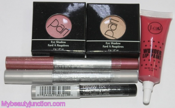 Lip Factory July 2014 beauty box review, unboxing, swatches