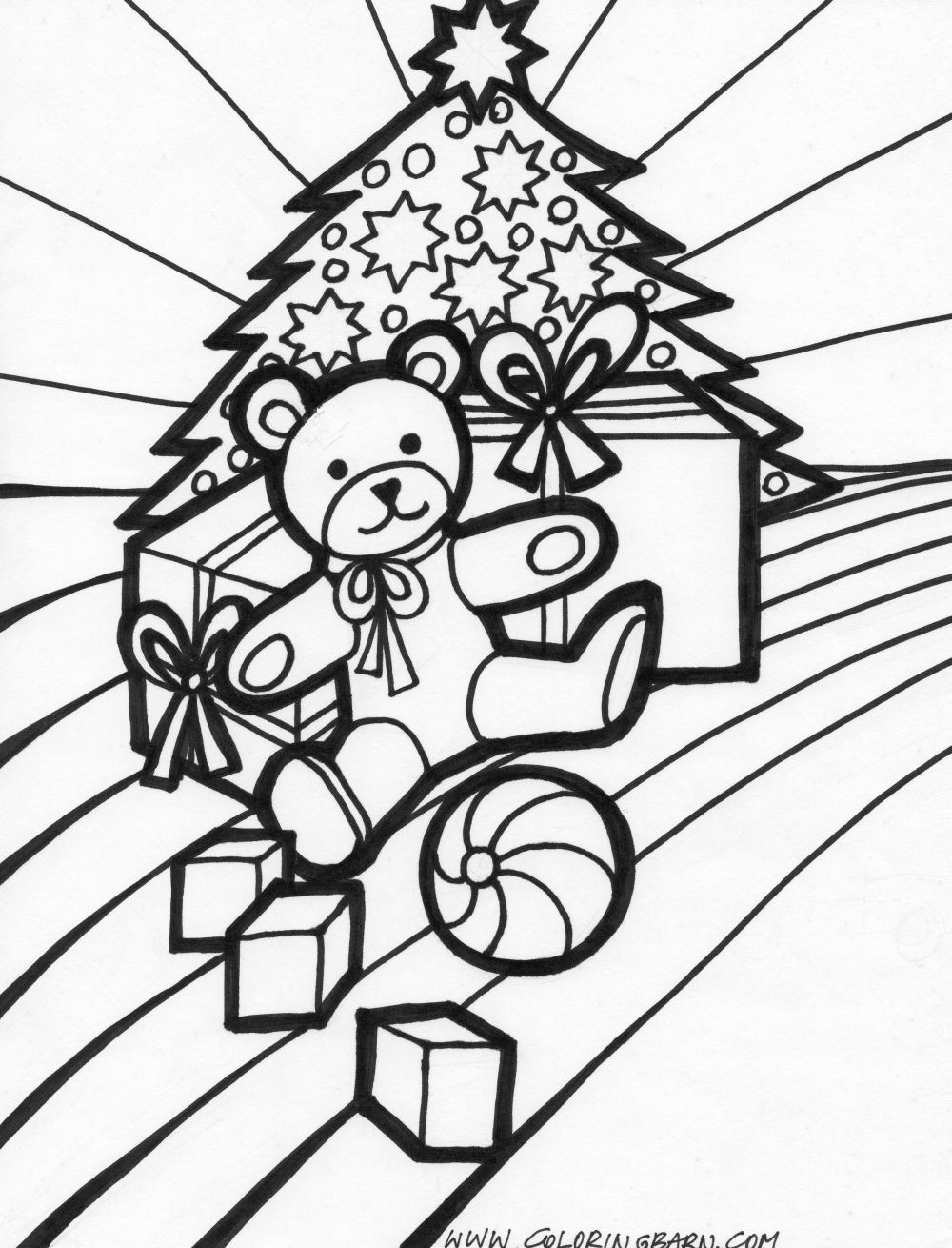 coloring pages christmas presents  u0026gt  u0026gt  disney coloring pages
