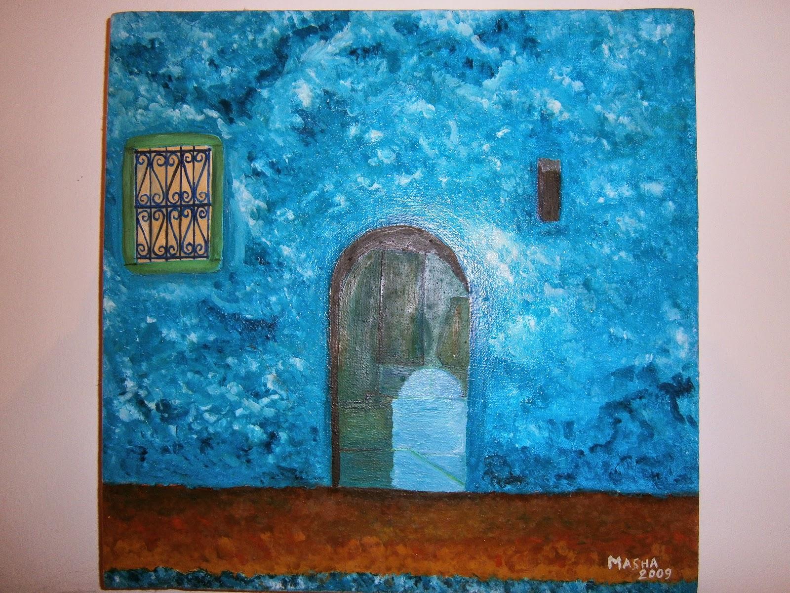 Tableaux de masha galerie for Peinture sur porte