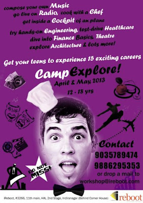 Summer camp at iReboot in Bangalore