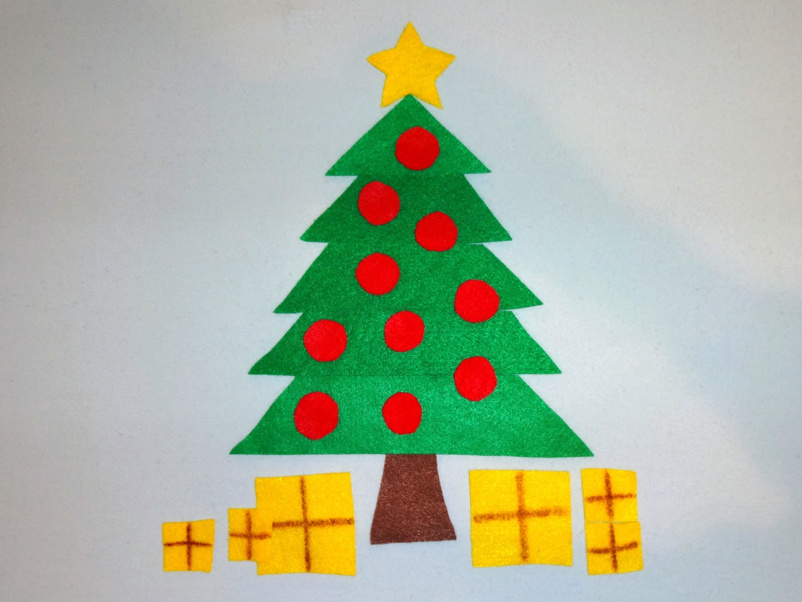 Mom\'s Tot School: Christmas Trees