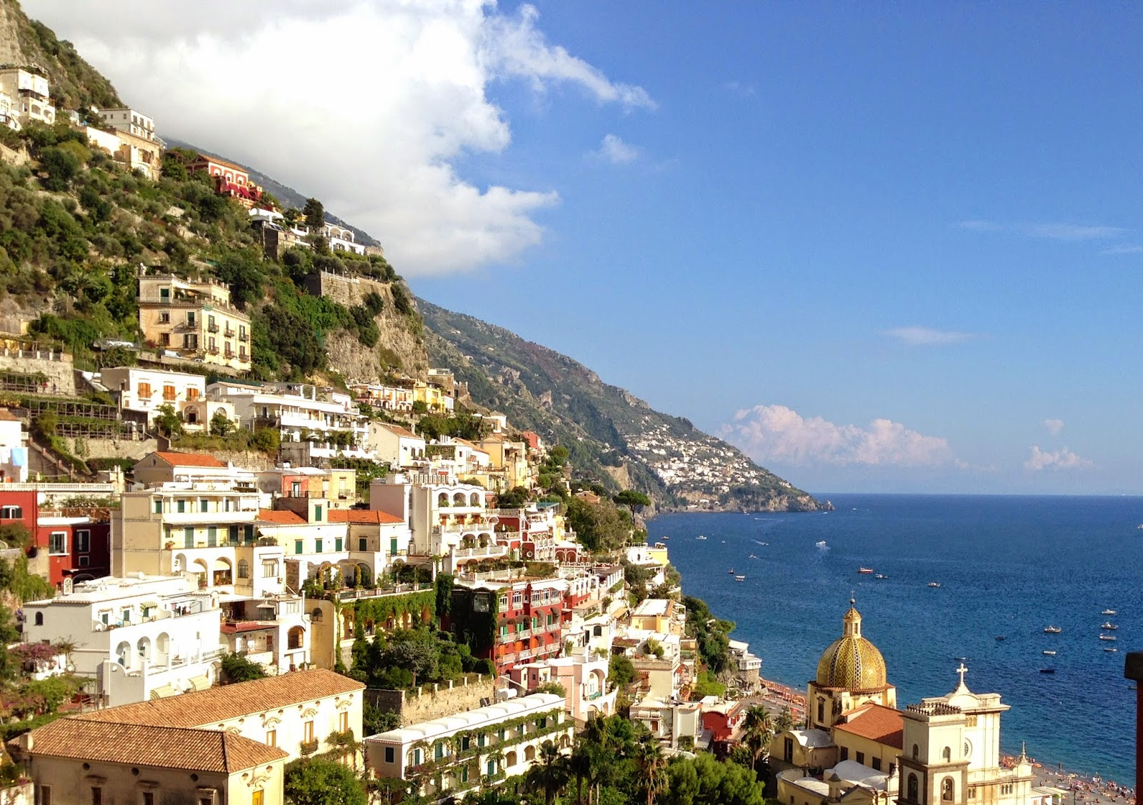 Renting A Car In Positano Italy