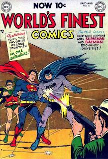 World's Finest Comics #71, 1st Batman Superman team up comic