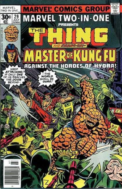 Marvel Two-In-One 29 - La Cosa y Shang-Chi