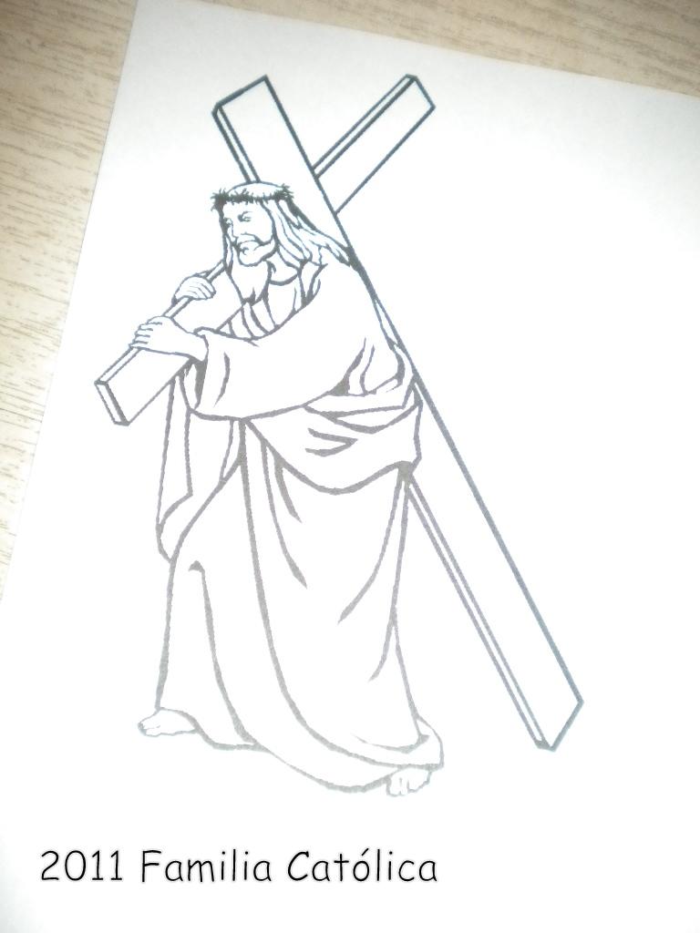 Familia Católica: Los 7 Dolores de Nuestra Señora: Páginas para colorear