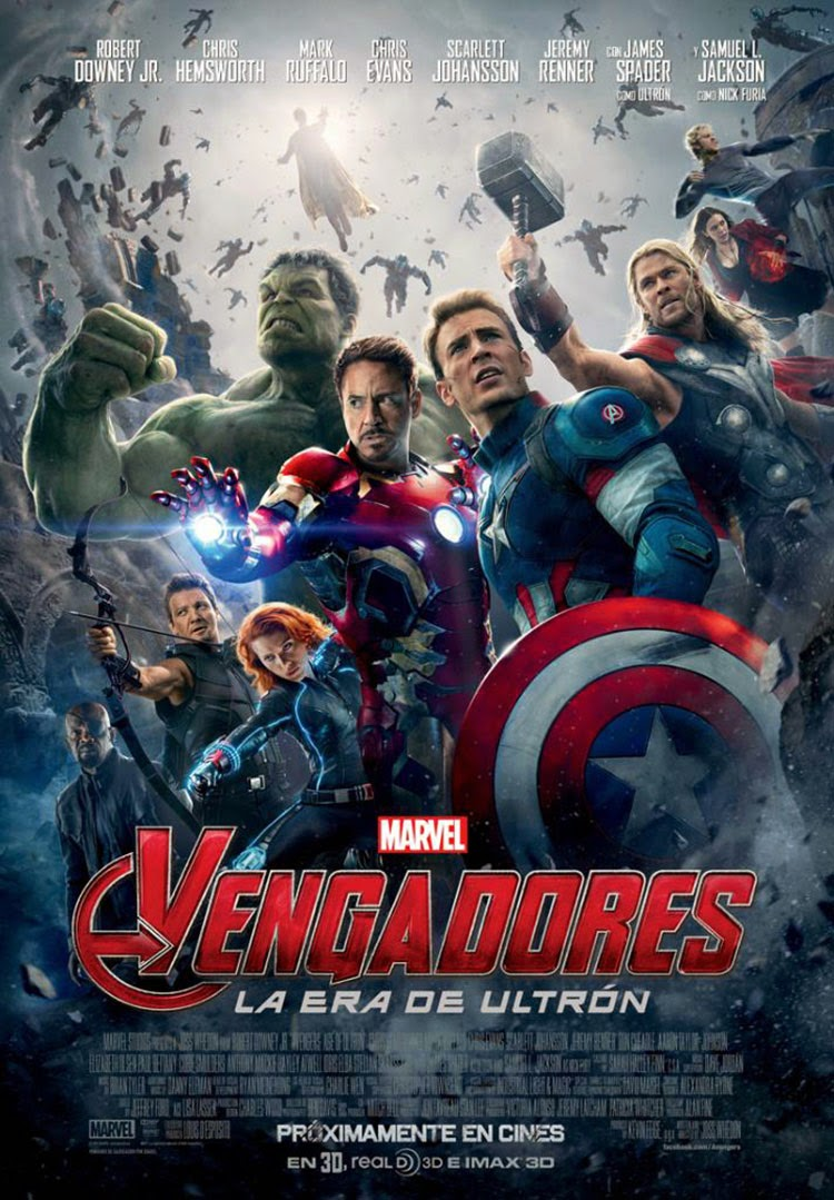Los Vengadores 2 La Era De Ultrón (The Avengers 2 Age Of Ultron) (2015)