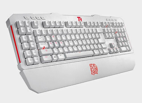 Asus white gaming keyboard