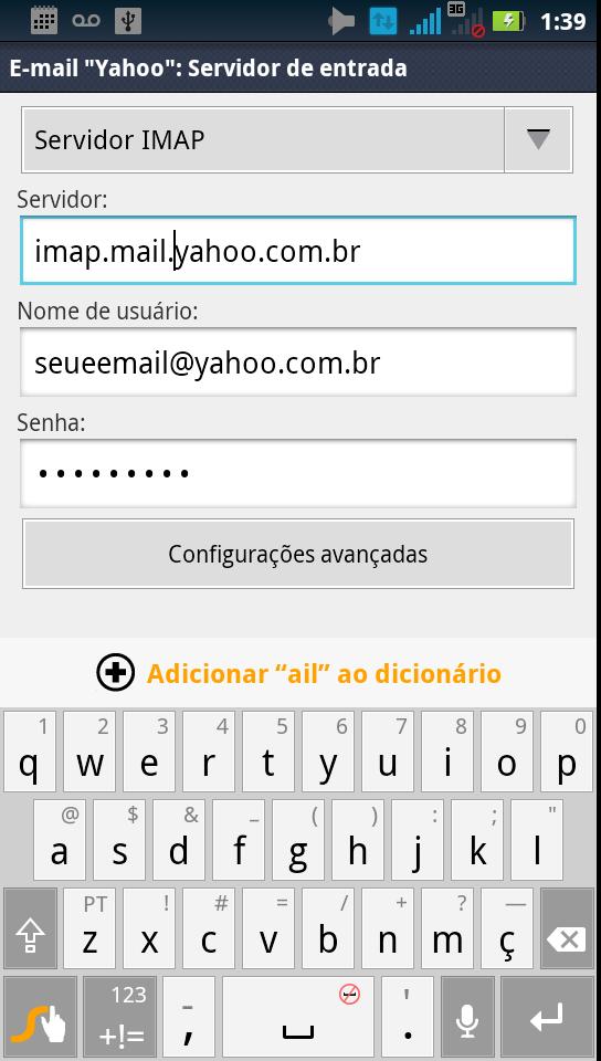 Configurar e mail yahoo sos droid stopboris Images