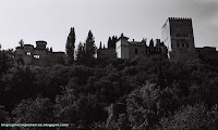Vista panorámica de la Alhambra - Panoramic view