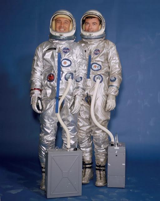Die Geschichte der NASA-Weltraumanzüge beim Familienfunk
