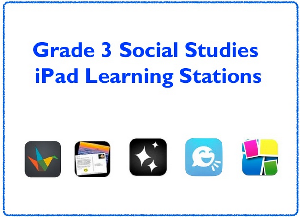 Useful iPad Apps and Activities to Teach Social Studies ~ Educational Technology and Mobile Learning