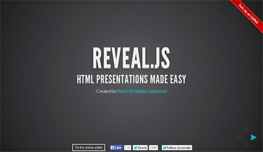 30+ JavaScript/HTML5 and WordPress Presentation Frameworks and Libraries