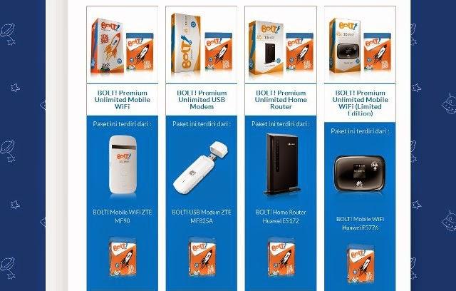 Daftar Harga Modem BOLT 4G LTE Terbaru 2015