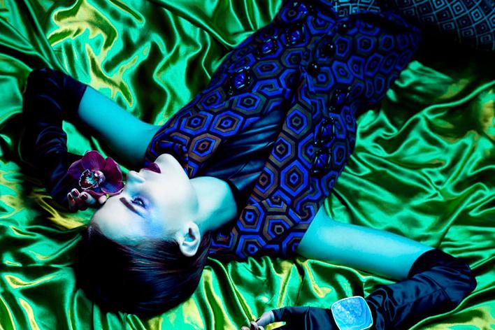 Amber Gray, Lush Magazine