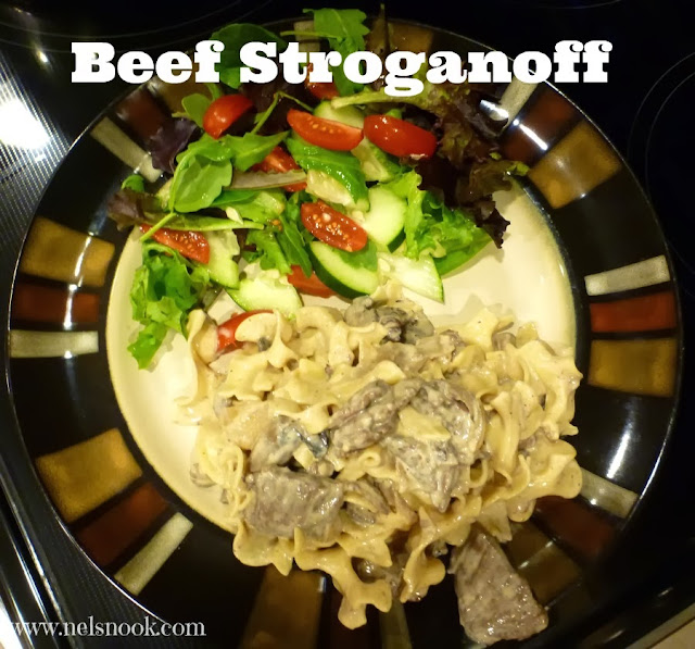 Easy and Delicious Dinner - Beef Stroganoff